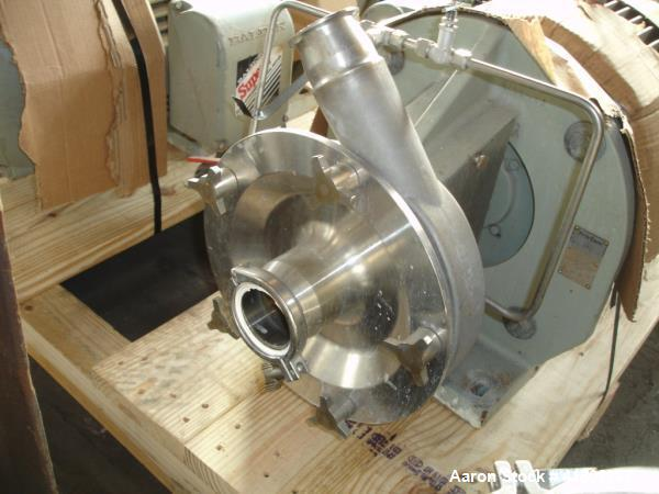 Used-One (1) used Stainless Steel Frisman centrifugal pump, model FP3552-230