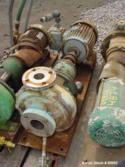 Used- Stainless Steel Power Dynamics Centrifugal Pump, Model 8106,