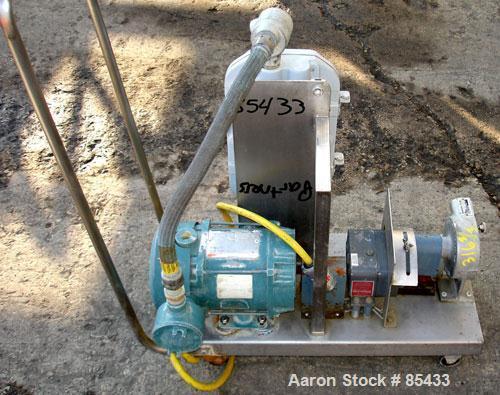 Used- Randolph Peristaltic Hose Pump, Model 610 (Aluminum housing)