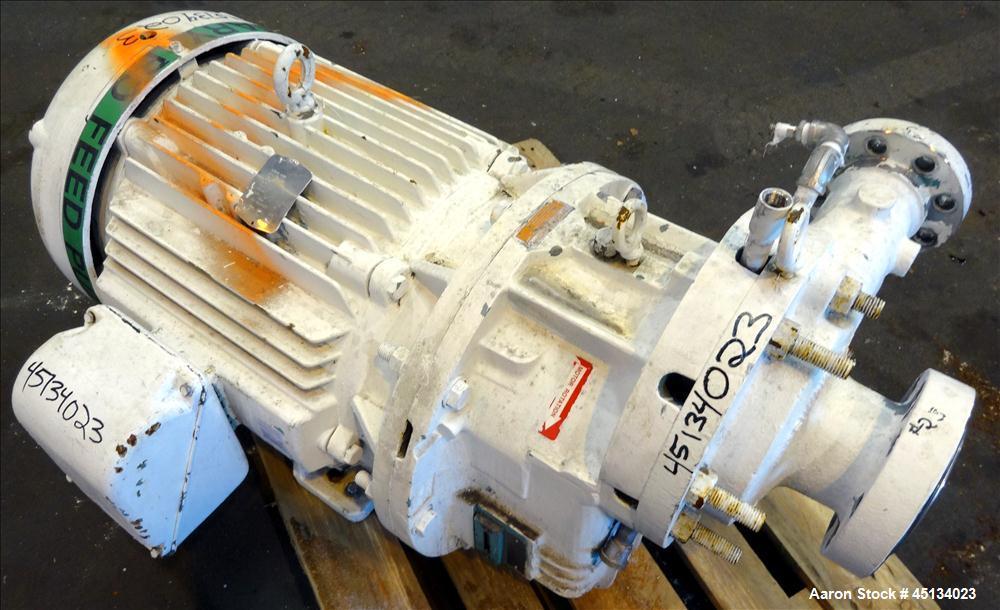 Used- Stainless Steel Sundyne Centrifugal Pump, Model P3-APJ