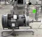 Used- Ampco Centrifugal Pump, Model DC2 2 1/2X2, 316 Stainless Steel. 2-1/2