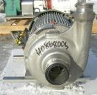 Used- Stainless Steel Ampco Centrifugal Pump, Model ZC2 2 1/2X2