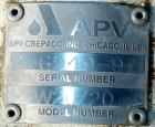 USED: APV centrifugal pump, model W20/20, 316 stainless steel. 2