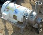 Used- APV Centrifugal Pump, Model W25/75, 316 Stainless Steel. 4