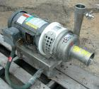 Used- Stainless Steel APV Centrifugal Pump, Model WI-20/20,