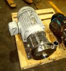 Used-Waukesha Centrifugal Pump, Model C218, 316 stainless steel. 3