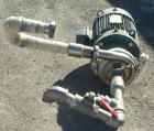 Used- Cherry Burrell Flexflo Centrifugal Pump, model VAHEB-F, 316 stainless steel. 2-1/2