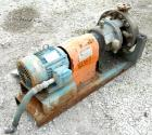 USED: Dean centrifugal pump, model R434, size 1x2x11-1/2, 316 stainless steel. 2