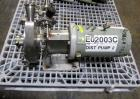 Used- Fristam Centrifugal Pump, Model FP732-150. Stainless steel construction, 2.5