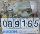 USED: Fristam centrifugal pump, model FPX3522-145, 317 stainless steel. 2-1/2