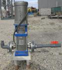 Used: Stainless Steel G&L SSV series vertical multistage centrifugal pump, model 1SVBK3