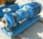 Used- Goulds Centrifugal Pump, Model 3196 MTX, size 3x4-10, 316 stainless steel. 4