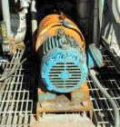 Used- Goulds Centrifugal Pump, Model 3196 MTX, Size 1x2-10, Stainless Steel. 2