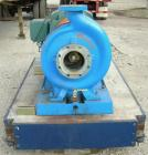Used- Goulds Centrifugal Pump, model 3196 XLT-X, size 4x6-17, 316 stainless steel. 6