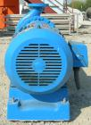 Used- Goulds Centrifugal Pump, model 3196, size 4X6-13, 316 stainless steel. 6
