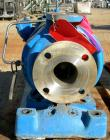 USED: Goulds centrifugal pump, model 3196, size 1.5x3x8, 316 stainless steel. 3