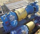 Used- Goulds Centrifugal Pump, model 3196, size 1x2x10, 316 stainless steel. 2