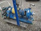 Used- Goulds Centrifugal Pump, model 3196MT, size 1x2-10, 316 stainless steel. 2