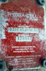 Used- Hydra-Cell Pump, Model DD35EASJNNEHB, 316 Stainless Steel. Approximate 3