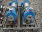 Used- Ingersoll Rand Centrifugal Pump, Type HOC2, Size 3x1.5x10, stainless steel. 3