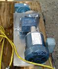 Used- Randolph Peristaltic Hose Pump, Model 610, Aluminum Housing. Two (2) tube sizes. 1/2