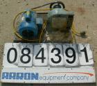 Used- Randolph Peristalic Pump, Model 750, Carbon Steel. Hose capacities 1-1/16