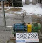 Used- Stainless Steel Sihi Side Channel Centrifugal Pump, model CEHY6101