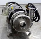 Used- L.C. Thomsen & Sons Centrifugal Pump, Model 56321-KA, 316 Stainless Steel.  Approximately 15 gallons per minute at 15'...