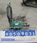 Used- Tri-Clover Centrifugal Pump, model C216MD21T-S, 316 stainless steel. 2