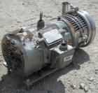 Used- Tri-CloverCentrifugalPump, Model C218MD18T-S,316 stainless steel.2