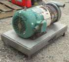 Used- Tri-Clover Centrifugal Pump, Model C218MDG21T-20ND-O2U-09SP, 316 Stainless Steel. 2