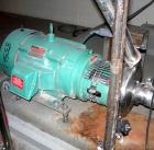 USED: Tri Clover centrifugal pump, model C328MDG2STS, 316 stainless steel. 8