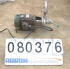 USED: Tri-Clover centrifugal pump, model C216ME18T-S, 316 stainless steel. 2