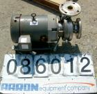 USED: Waukesha centrifugal pump, model 2065, 316 stainless steel. 2-1/2