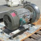 Used- Waukesha Centrifugal Pump, model 2085, 316 stainless steel. 3