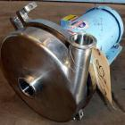 Used- Waukesha Centrifugal Pump, Model 2085LV, Stainless Steel.  2