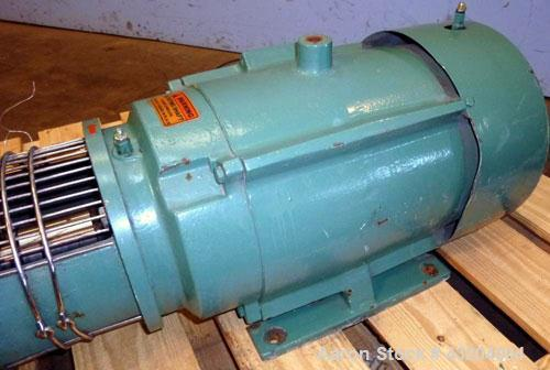 Used- Tri-Clover Centrifugal Pump, Model C216MD25T-S-KX, Stainless Steel. 2'' Tri-clamp inlet, 1-1/2'' tri-clamp outlet.Appr...
