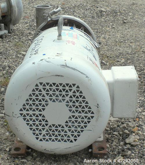 Used- Stainless Steel Tri-CloverCentrifugalPump, Model C218MD18-TS