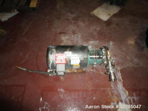 Used- Stainless Steel Tri-Clover Centrifugal Pump