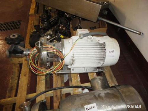 Used- Stainless Steel Tri-Clover Centrifugal Pump, Model LKH035
