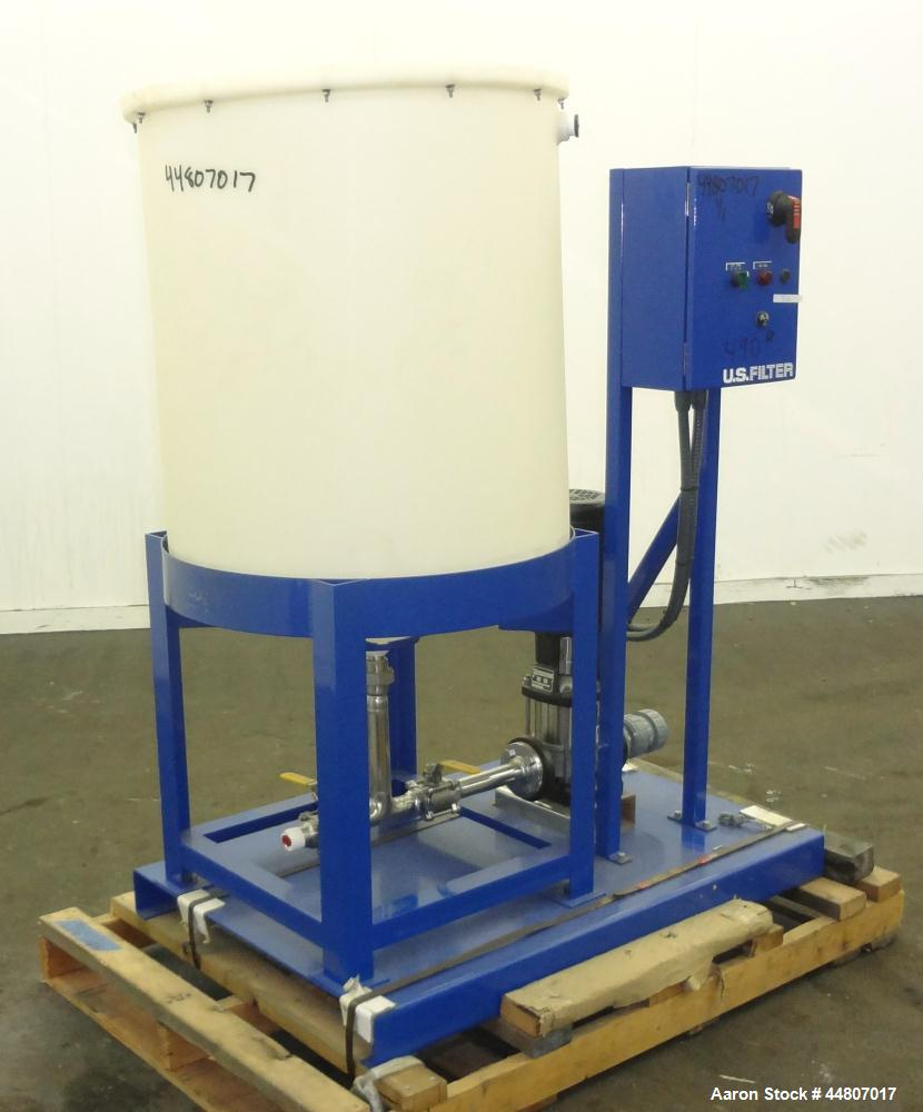 Unused- US Filter Agere Pump Skid