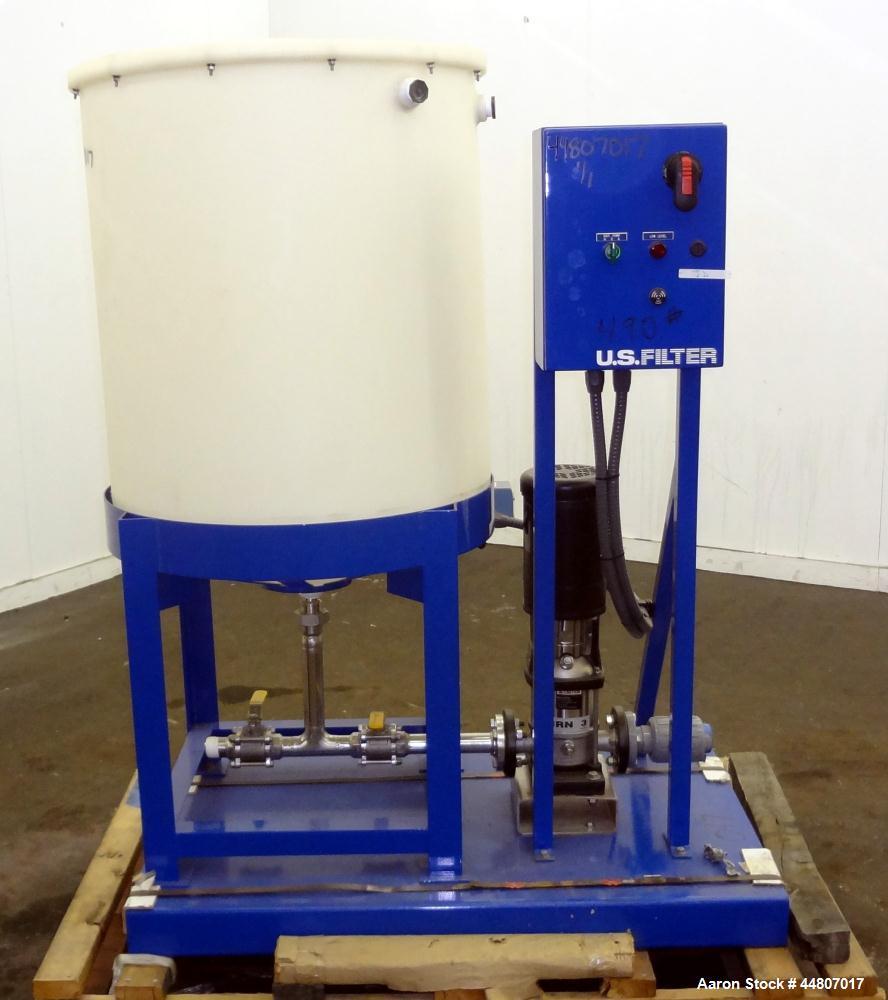Unused- US Filter Agere Pump Skid