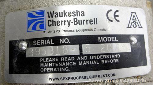 Used- Stainless Steel Waukesha Centrifugal Pump, Model 2045