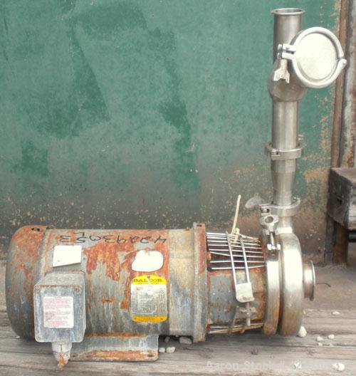 Used- Stainless Steel Waukesha Centrifugal Pump, Model C-216