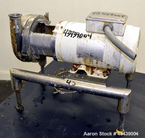 Used- Stainless Steel Waukesha C Series Centrifugal Pump, Model C216