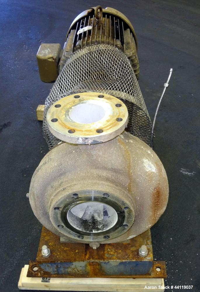 Used- Stainless Steel Worthington Gusher Centrifugal Pump