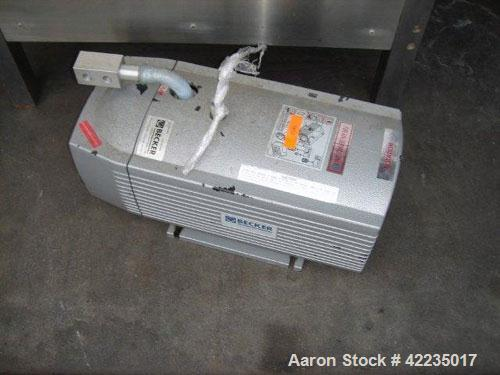 Used- Becker Vacuum Pump