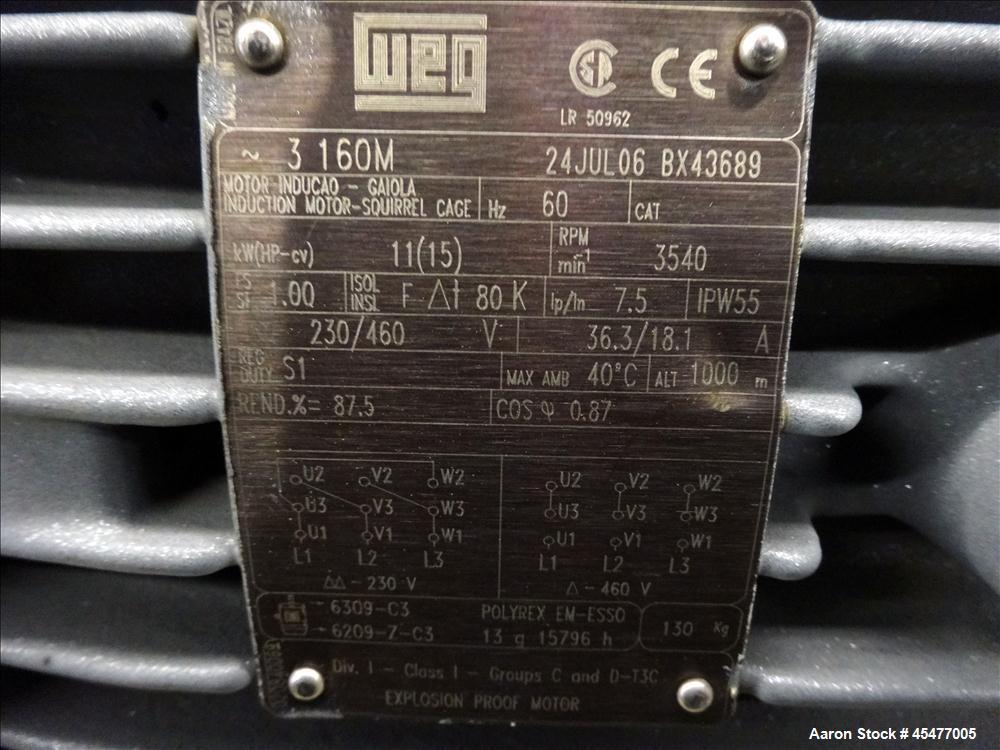 Used- Vacuum Pump System