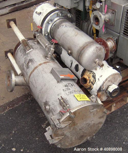 Used- Busch Huckepack Two Stage Rotary Vane Vacuum Pump, Model 433:013. Rated 200 cfm at .5 Torr, with a 15 hp, 3/60/460 vol...