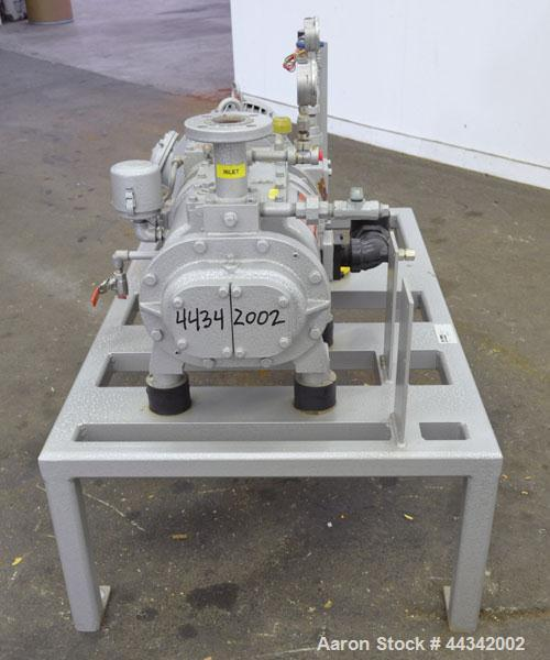 Used- Busch Single Stage Cobra Dry Screw Vacuum Pump, Model AC0100, Carbon Steel. Rated 57 cfm, 0.30'' Torr., direct cooled....
